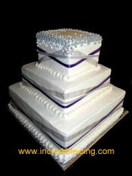 #294- Colorado Rockies Wedding Cake