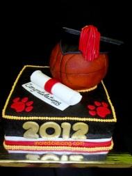#121- Basketball Graduation ake
