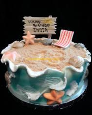 #289- Sunny Beach Cake