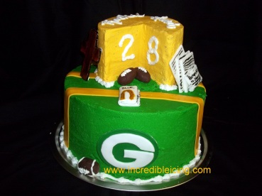 412- Green Bay Cheese head!