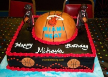 #59- Miami Heat Cake