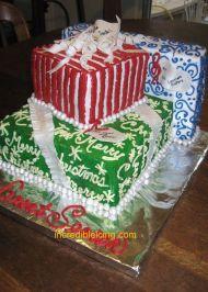 #379- Holiday Celebration Cake