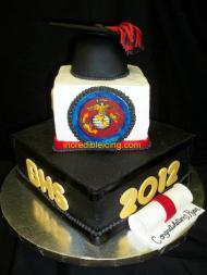 #104- Navy Cake