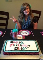 #287- Abby and her Cake