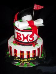 #24- Golf Lover's Graduation Cake