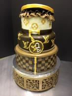 #438 Louis Vuitton Stacked