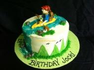 #203- Kayaking Cake