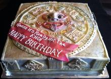 Mayan Calendar Cake