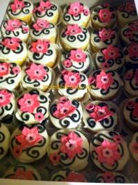 Modern Day Princess Cupcakes