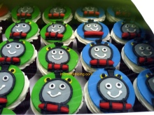 Thomas and Friends Cupcakes