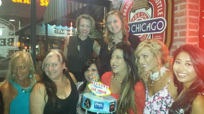 #206- Jen celebrates with a Vegas themed Birthday Cake