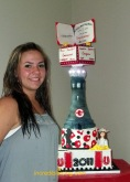 #33- Emily's Graduation Cake
