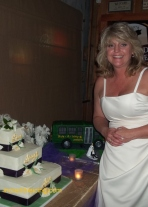 #46- Laura and Kevin's Wedding Cake