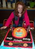 #59- Mikayla's Miami Heat Cake