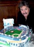 Tony Orlando and his Yankee Stadium Cake