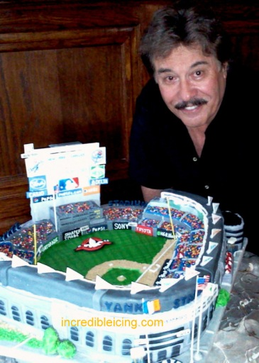 #16- Tony Orlando and his Yankee Stadium Cake