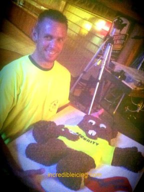 #38- Ryan and his Security Guard Cake