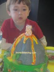 #10- Volcano Cake