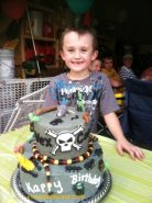 #125- Jaden and his Billy The Exterminator Cake