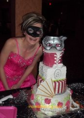 Miss Brit celebrates her sweet sixteen with a masquerade Cae