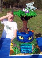 #57- Cash and his Avatar cake