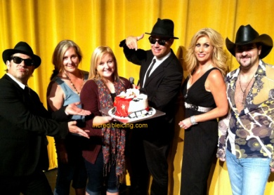 #139- The Legends Cast and their Marilyn Monroe Cake