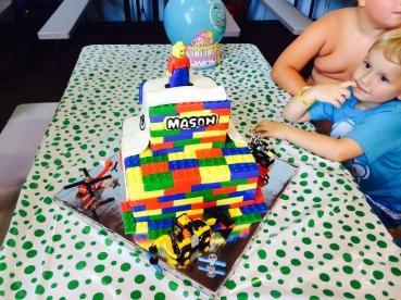 #323- Mason's Lego Cake