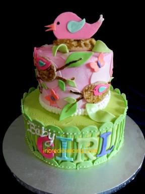 Baby Birds Baby Cake
