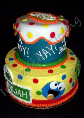 Sesame Street Baby Cake