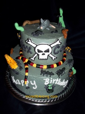 Billy The Exterminator Cake