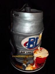 #140- Bud Light Keg