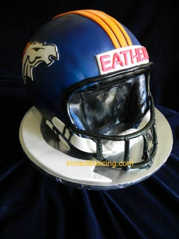 #374- Broncos Helmet