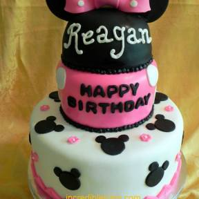 Minnie Inspired Cake