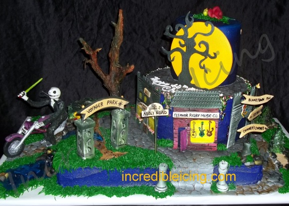 #43- Tim Burton Inspired Cake