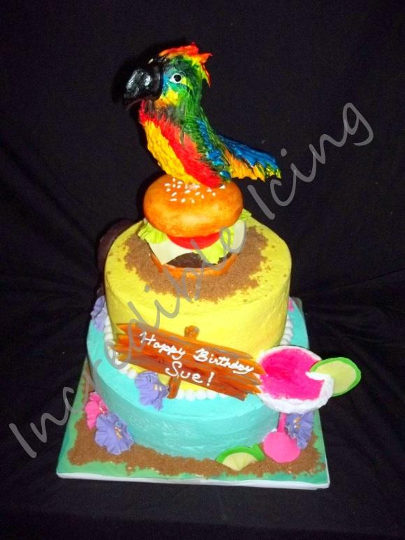 #66- Jimmy Buffet Inspired Cake