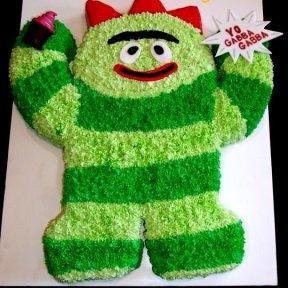 Yo Gabba Gabba Cake!
