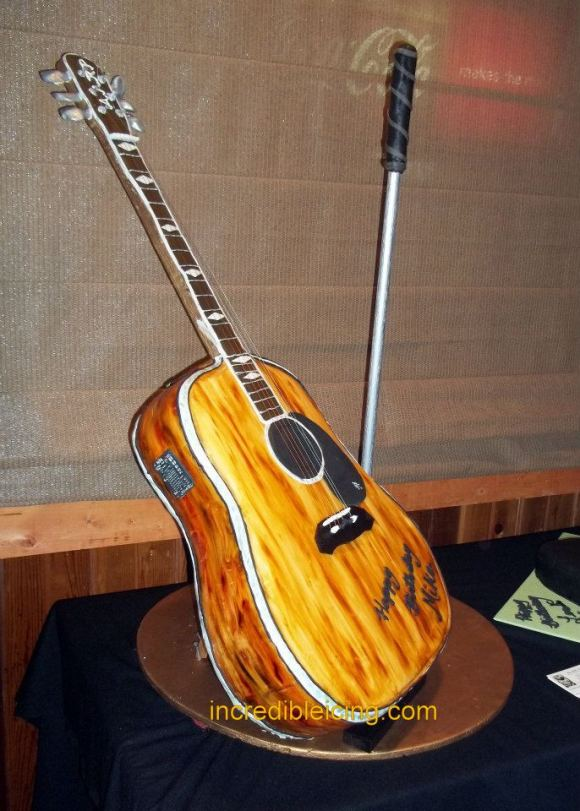 "#63- Life Sized ""playable"" Guitar"