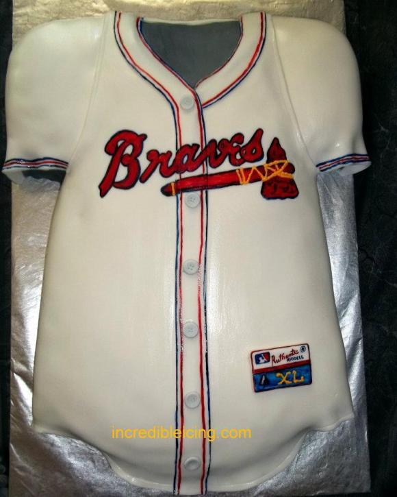 #132- Atlanta Braves Jersey