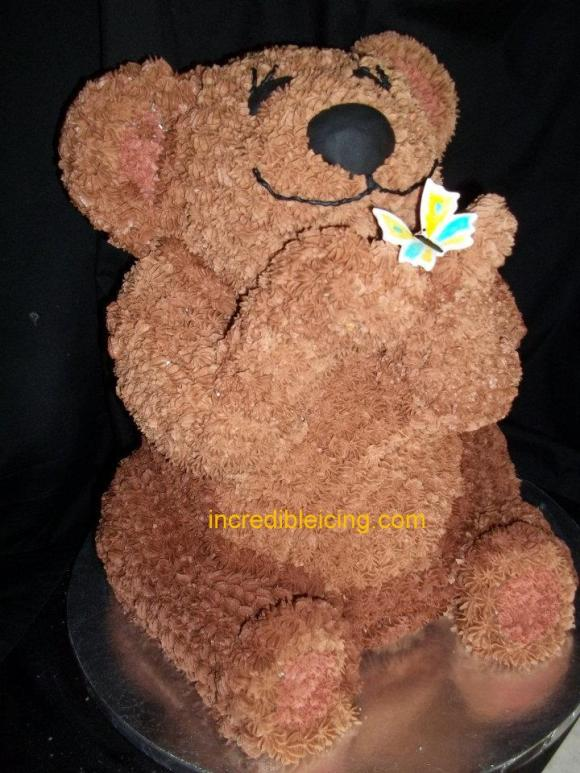 #96- Teddy Bear Wedding Cake