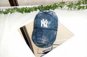 Buttercream Yankees Cap
