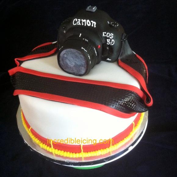#210- Canon Cake