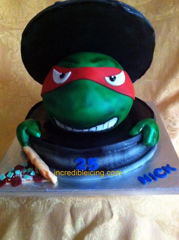 #265- TMNT Cake