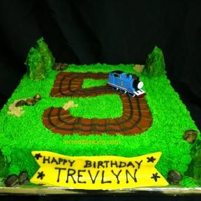 Simple Thomas Cake