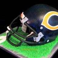 #260- Bears Helmet