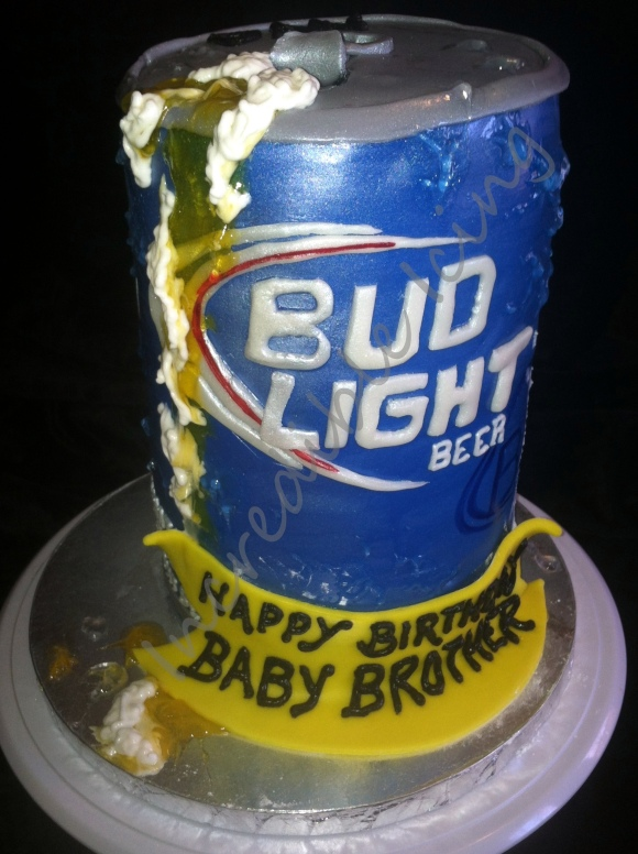 #165- Bud Light Can