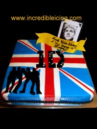 #340- 1 Direction Cake
