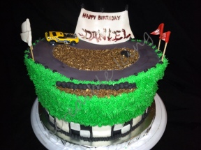 #174- Racing Cake