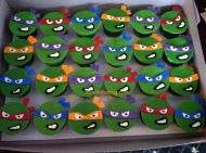 #398- TMNT Cupcakes