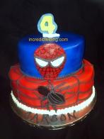 Carson's Spiderman Cake