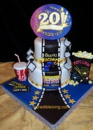 #252- Imax Celebration Cake